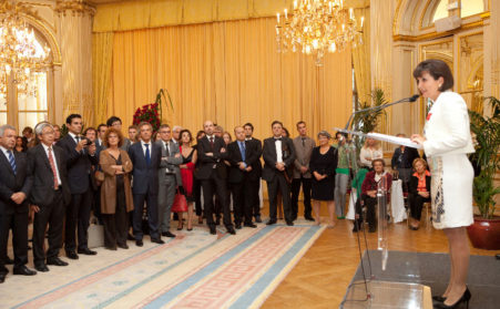 Isabelle Bailly Received The Legion Of Honor