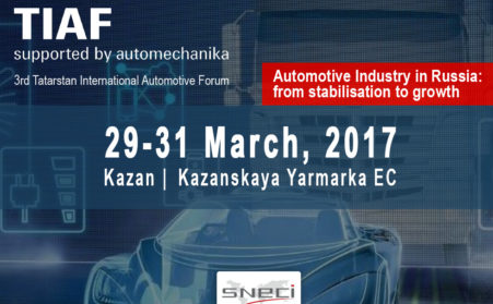 SNECI Is Partner Of The 3rd Automotive Forum In Kazan