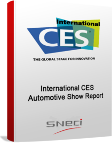International CES Automotive Show Report
