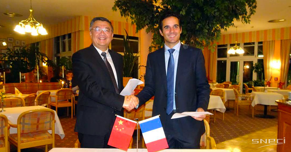 SNECI And AIS Sign A MoU To Develop Chinese Suppliers On The European Market