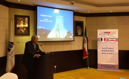 SNECI Joined The FIEV Delegation In Iran